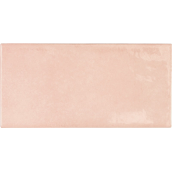 Faience effet zellige rose 6.5x13.2 VILLAGE ROSE GOLD 25583 - 0.5m²