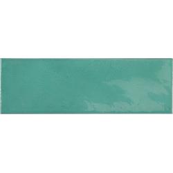 Faience effet zellige bleu turquoise 6.5x20 VILLAGE TEAL 25631 - 0.5 m²