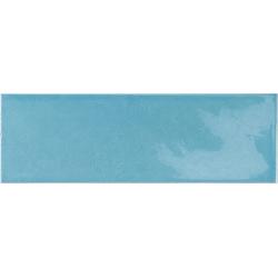 Faience effet zellige bleu azur 6.5x20 VILLAGE AZURE BLUE 25651 - 0.5m²