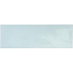 Faience effet zellige bleu ciel 6.5x20 VILLAGE CLOUD 25639 - 0.5m²