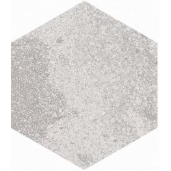 Carrelage hexagonal effet pierre 23x26,6m BRANSON NACAR - 0.5m²