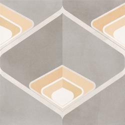 Carrelage imitation ciment BOISE 15x15 cm Rectifié - 1m²