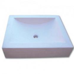 Vasque Prismatic limra pierre calcaire 50x40x12cm