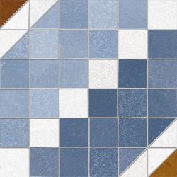 Carrelage décoration quadrillé 20x20 cm MODESTO Rectifié - 1m²