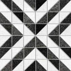 Carrelage décoration quadrillé 20x20 cm STOCKTON Rectifié - 1m²