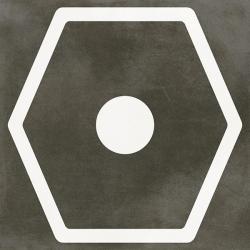 Carrelage imitation ciment JOPLIN ANTHRACITE 29.3x29.3 cm Rectifié - 0,94m²