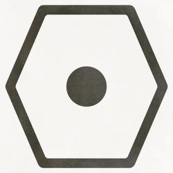 Carrelage imitation ciment JOPLIN BLANC 29.3x29.3 cm Rectifié - 0,94m²