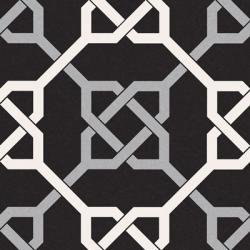 Carrelage style ancien ciment NATTE BLACK 16.5x16.5 cm - 0.55m²