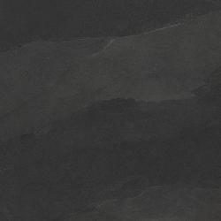 Carrelage  grès cérame aspect pierre - ANCELIA NOIR 60X60 - Rectifié - 1,08m²