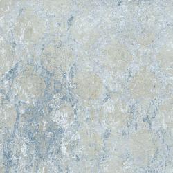 Carrelage décor aux motifs aléatoires BATIK BLEU 59.2x59.2 cm Rectifié - R10 - 1.42m²