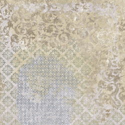 Carrelage décor aux motifs aléatoires BATIK MELANGE 59.2x59.2 cm Rectifié - R10 - 1.42m²