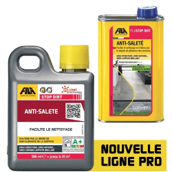 Anti-saleté pour Grès structuré, naturel, Lappato brillant : FilaStop Dirt 500ml