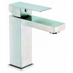 Mitigeur lavabo moderne DAYTON brossé