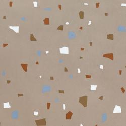 Carreau style granito coloré 80x80 cm NAPPAGE DECOR OCRE -R10- 1.28m²