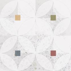 Carrelage décoré coloré 20x20 cm ZODIAC - 1m²
