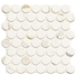 Carrelage imitation mosaïque 30,9x30,9 cm CIRCLE CALACATTA GOLD - 0.86m²