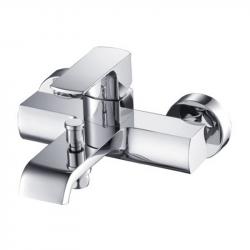 Mitigeur bain/douche moderne SARI chromé