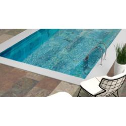 Carrelage piscine effet pierre naturelle NIAGARA 30x60 cm R9 - 1.26 m²