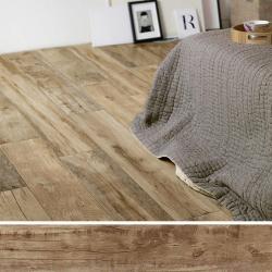 Dalle imitation bois antidérapante 40x120 cm WOODMANIA Caramel ep.2 cm - R11 - 0.48 m²