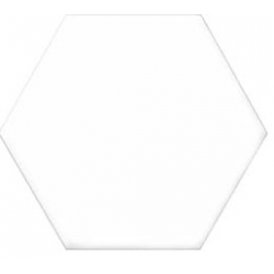 Tomettes unie ciment 20x24 VERSALLES BLANC - 0.915m²