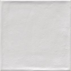 Faïence blanche nuancée 20x20 cm ETNIA BLANCO - 1m²