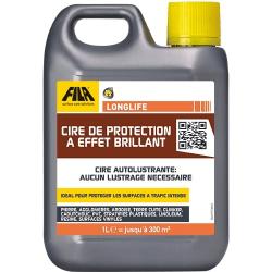 CIRE DE PROTECTION À EFFET BRILLANT - LONGLIFE - 5 Litres