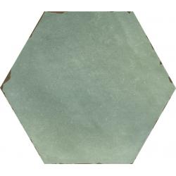 Carrelage tomette 14x16 cm CAMBRIDGE BLUE- 0.50 m²