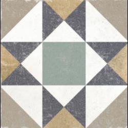 Carrelage vieilli imitation ciment 20x20 cm GALATINA KENITRA - 0.52 m²