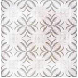 Carrelage aspect ciment décoré 20x20 cm SURINAME - 0.52 m²