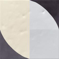 Carrelage décoré 20x20 cm MOLESKINE - 1 m²