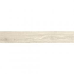 Plinthe aspect bois moderne ANDRIA BLANC grand format - 6,5X120- 8 Unités