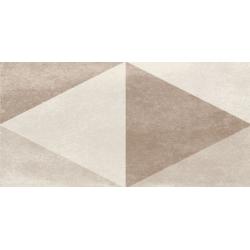 Faïence brillante rectangulaire BAILA MIX IVORY 15X30 - 0,63 m²