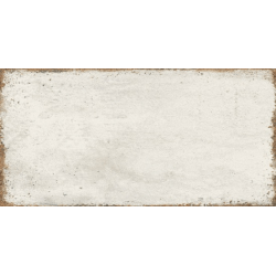 Faïence effet vieilli rectangulaire CALY SNOW 15X30 - 0,63 m²