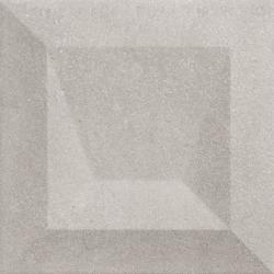 Faïence à relief 3D mate DILYS KAUS FUMO 25X25 - 0,94 m²