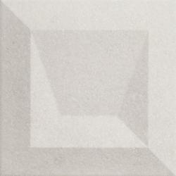 Faïence à relief 3D mate DILYS KAUS CENERE 25X25 - 0,94 m²