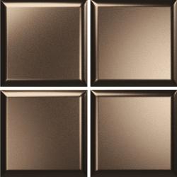 Faïence couleur bronze DINARA BRONZE 15x15 - 0,54 m²