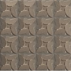 Faïence couleur bronze à décors multiples GULHAN VINTAGE BRONZE 15x15 - 0,63 m²