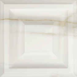 Faïence satinée à relief aspect marbre HINNA UKA 25x25 - 0,94 m²