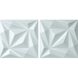 Faïence brillante colorée à relief 3D NEWTON IGGY SKY 15x15 - 0,63 m²