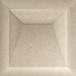 Faïence aspect pierre à relief STROMESS AKAN CARAMEL 25X25 - 0,94 m²