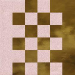 Faïence murale rosée et dorée SEDILLOT CORAL OR20X20- Unité