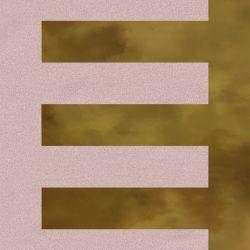 Faïence murale rosée et dorée TAILLADE CORAL OR20X20- Unité