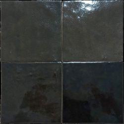 Carrelage esprit zellige nuancé MANÙ BERBER BLACK 10X10 - 0,44m²