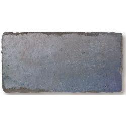 Parement brillant effet brique usé MANOVO SKYLINE BLUE 7,5X15 - 0,5m²