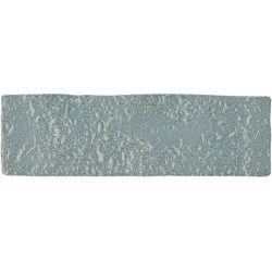 Carrelage brique de parement très réaliste BINDI GLOSS CONFORT BLUE 6X20 - 0,5m²
