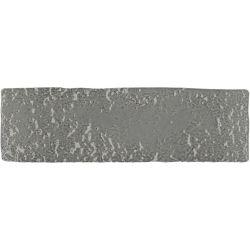 Carrelage brique de parement très réaliste BINDI GLOSS DARK GREY 6X20 - 0,5m²
