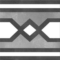 Carrelage imitation ciment CHITWAN BLACK&WHITE 15X15 FT1018  - 1 unité