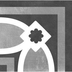 Carrelage imitation ciment CHITWAN BLACK&WHITE 15X15 FT1017 - 1 unité