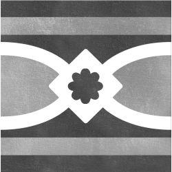 Carrelage imitation ciment CHITWAN BLACK&WHITE 15X15 FT1016 - 1 unité