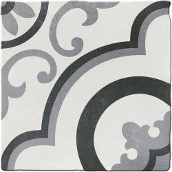 Carrelage imitation ciment CHITWAN BLACK&WHITE 15X15 FT1015 - 0,5m²